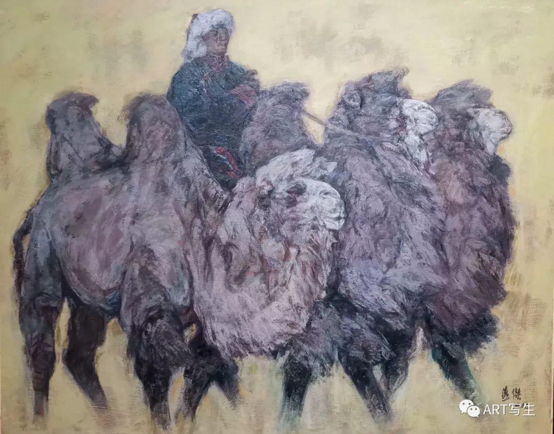 第十三届内蒙古自治区美术作品展览(油画作品) 第29张