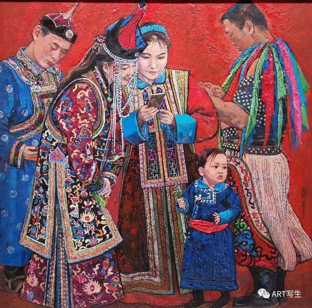 第十三届内蒙古自治区美术作品展览(油画作品) 第32张
