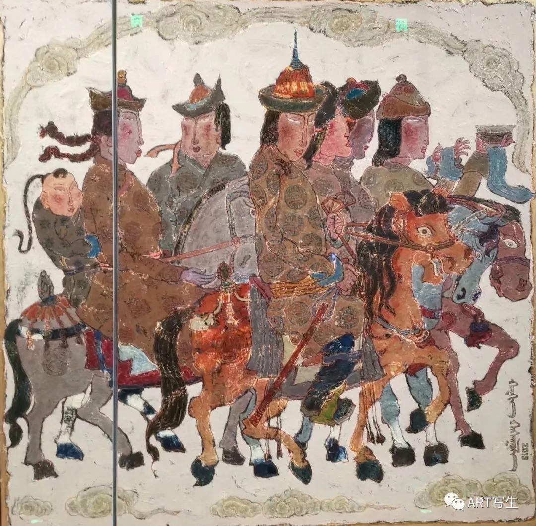 第十三届内蒙古自治区美术作品展览(油画作品) 第31张
