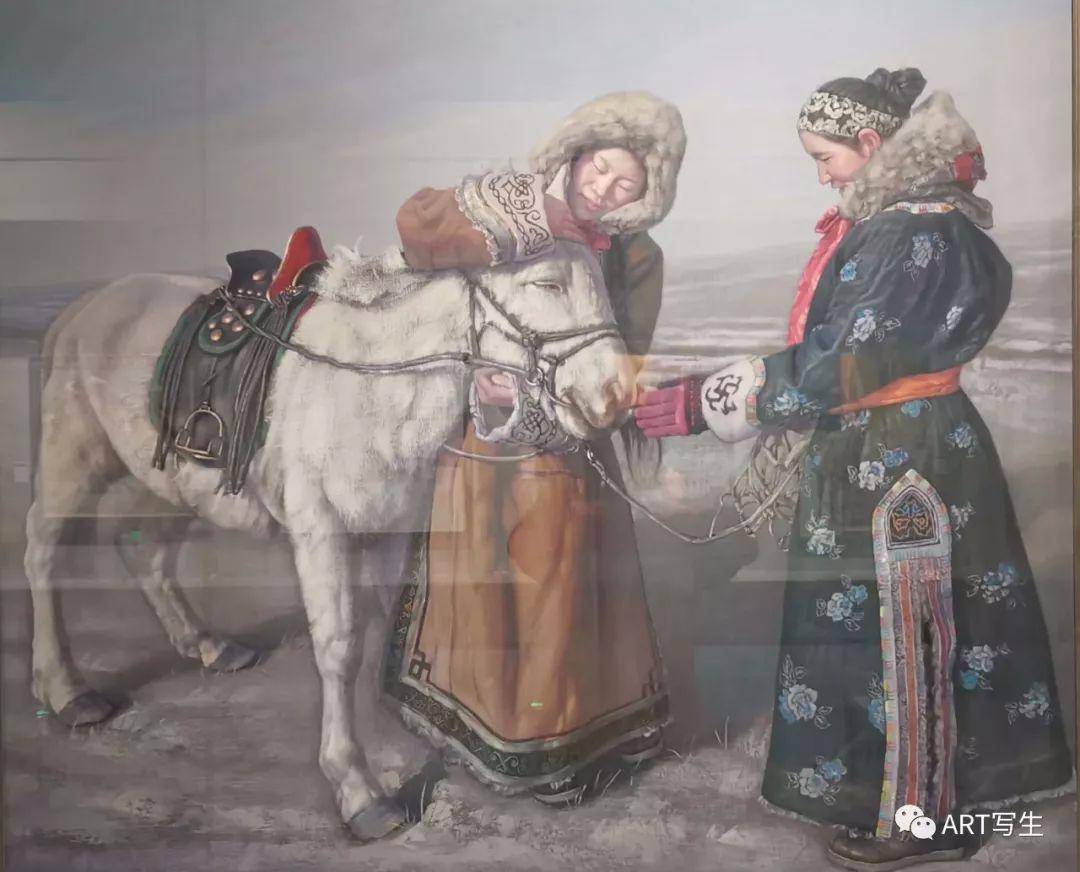 第十三届内蒙古自治区美术作品展览(油画作品) 第36张