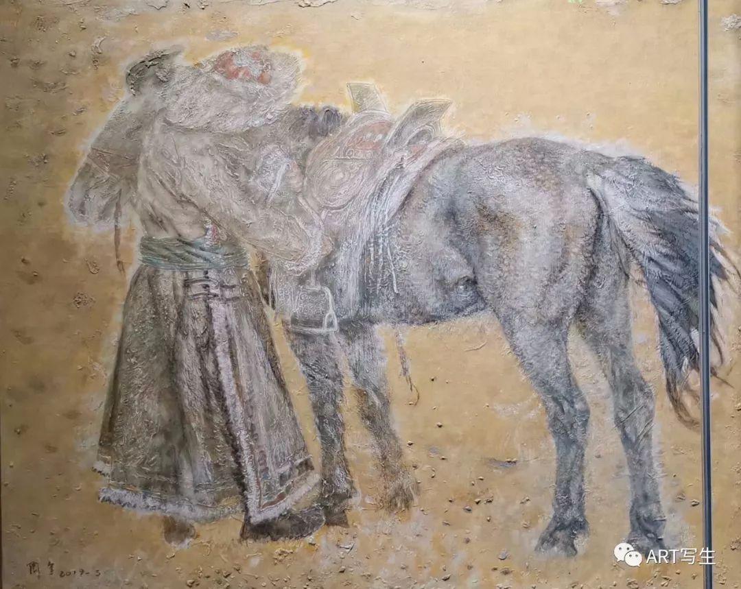 第十三届内蒙古自治区美术作品展览(油画作品) 第34张