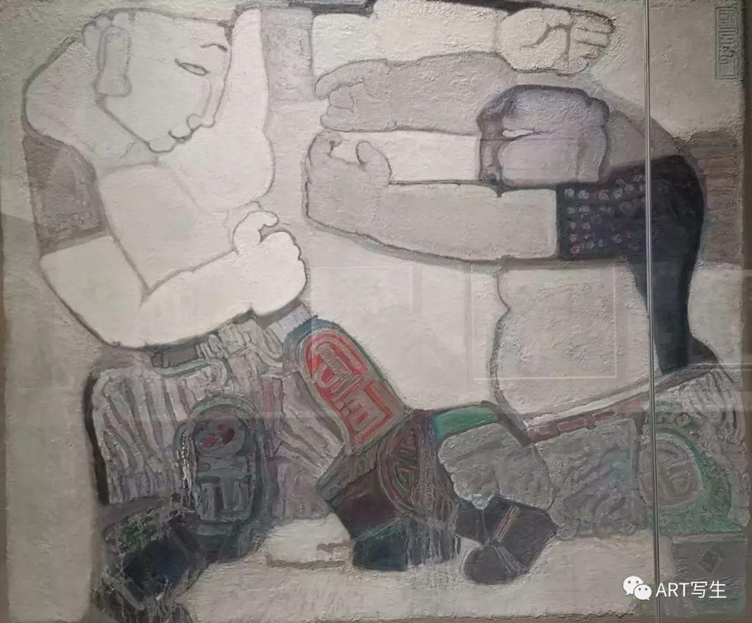 第十三届内蒙古自治区美术作品展览(油画作品) 第39张