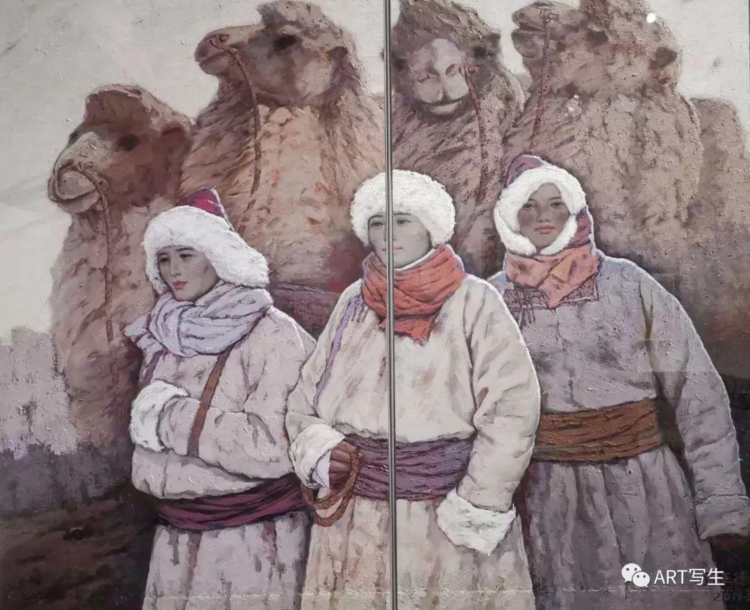 第十三届内蒙古自治区美术作品展览(油画作品) 第37张