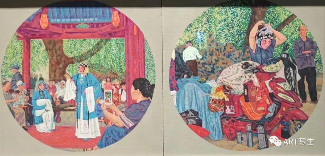 第十三届内蒙古自治区美术作品展览(油画作品) 第38张