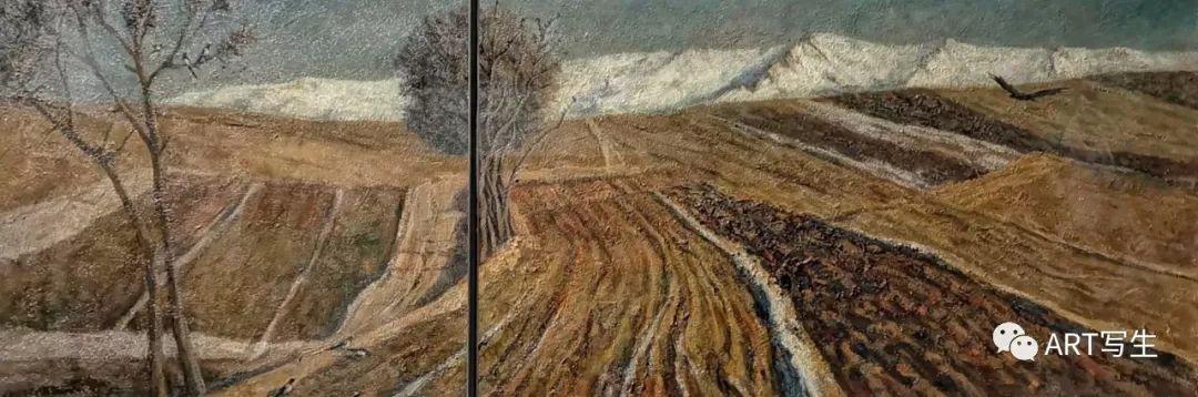 第十三届内蒙古自治区美术作品展览(油画作品) 第40张