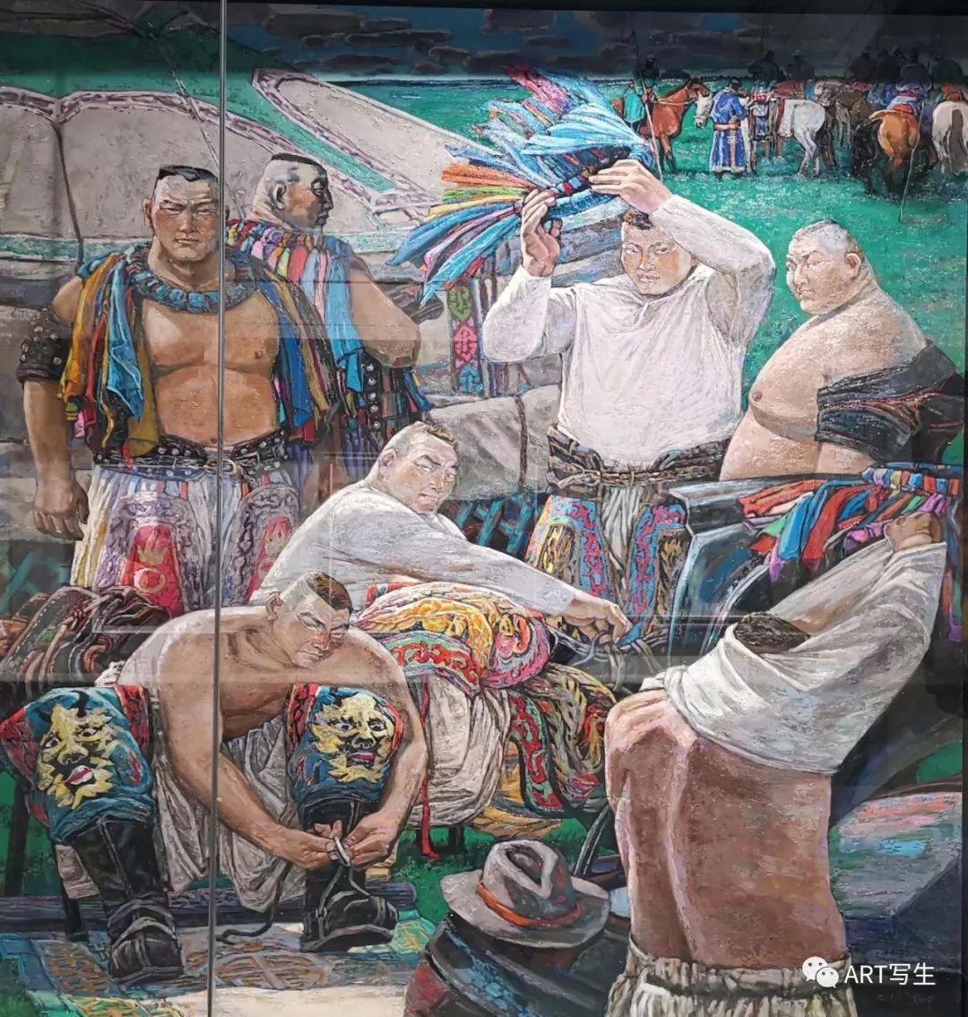 第十三届内蒙古自治区美术作品展览(油画作品) 第41张