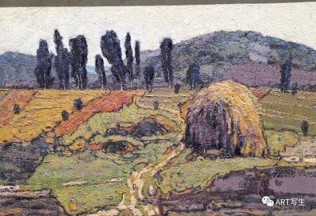 第十三届内蒙古自治区美术作品展览(油画作品) 第43张