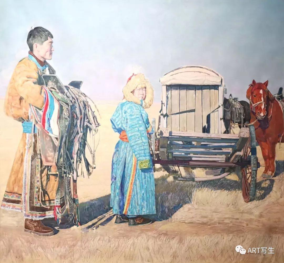 第十三届内蒙古自治区美术作品展览(油画作品) 第51张