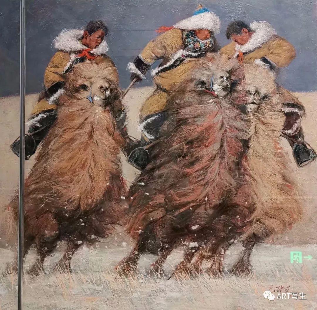 第十三届内蒙古自治区美术作品展览(油画作品) 第60张