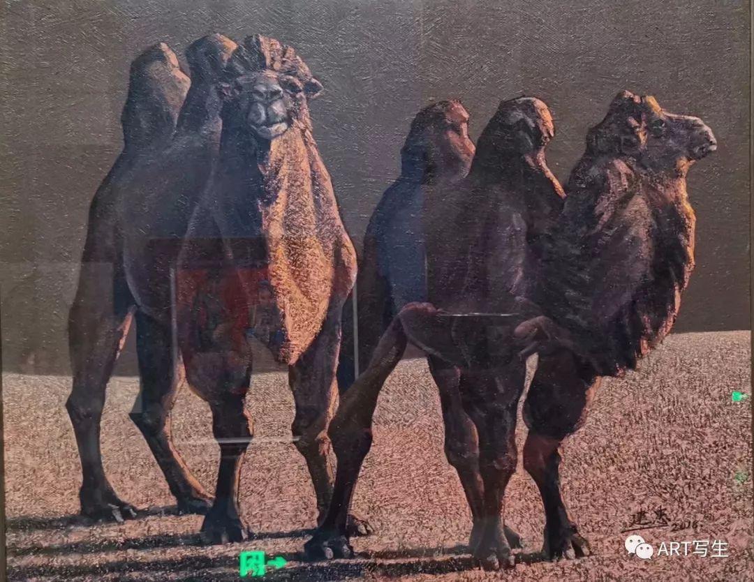 第十三届内蒙古自治区美术作品展览(油画作品) 第59张