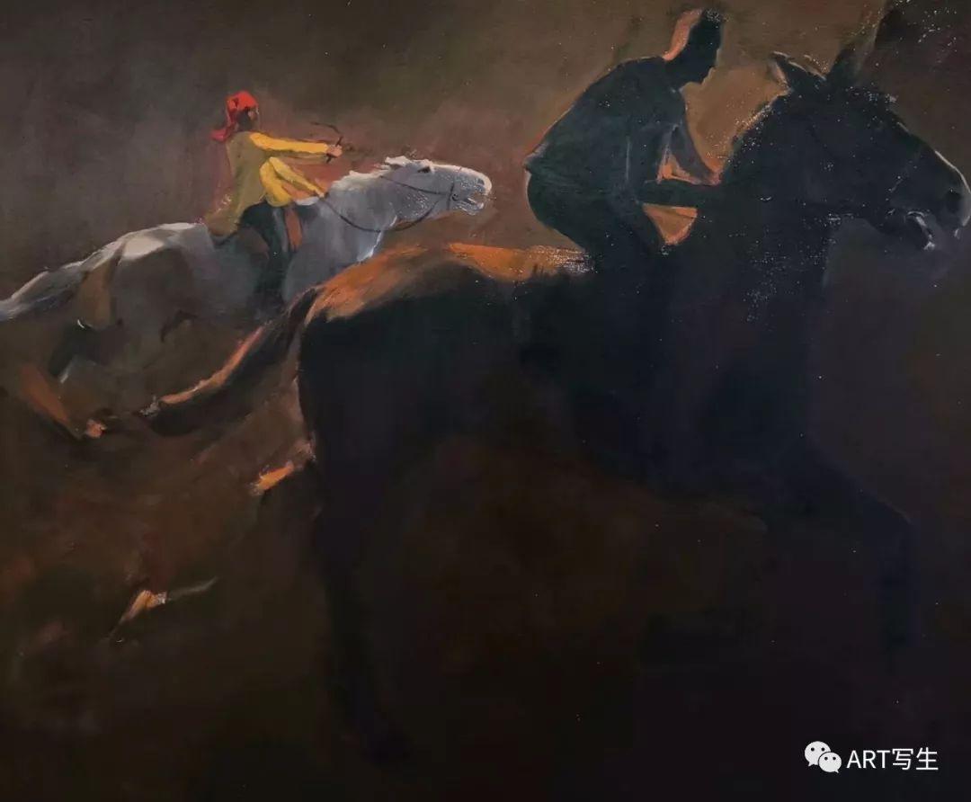 第十三届内蒙古自治区美术作品展览(油画作品) 第65张