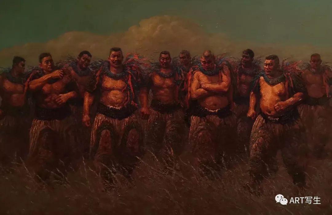 第十三届内蒙古自治区美术作品展览(油画作品) 第64张