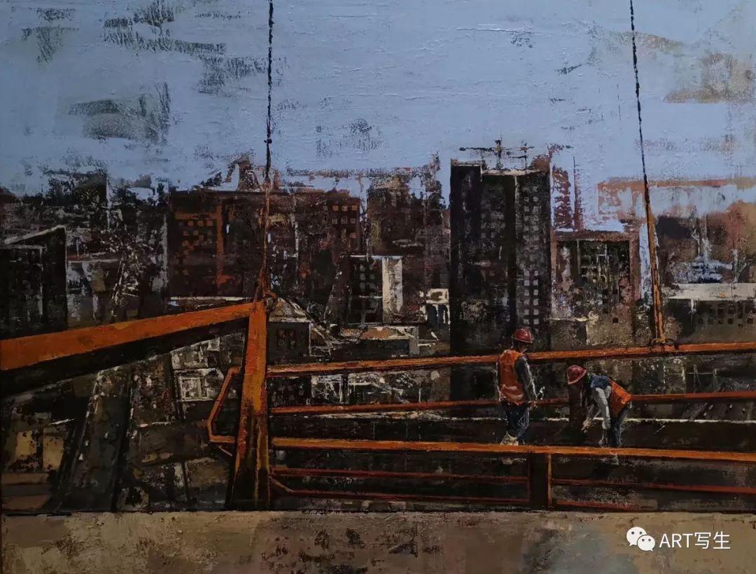第十三届内蒙古自治区美术作品展览(油画作品) 第69张