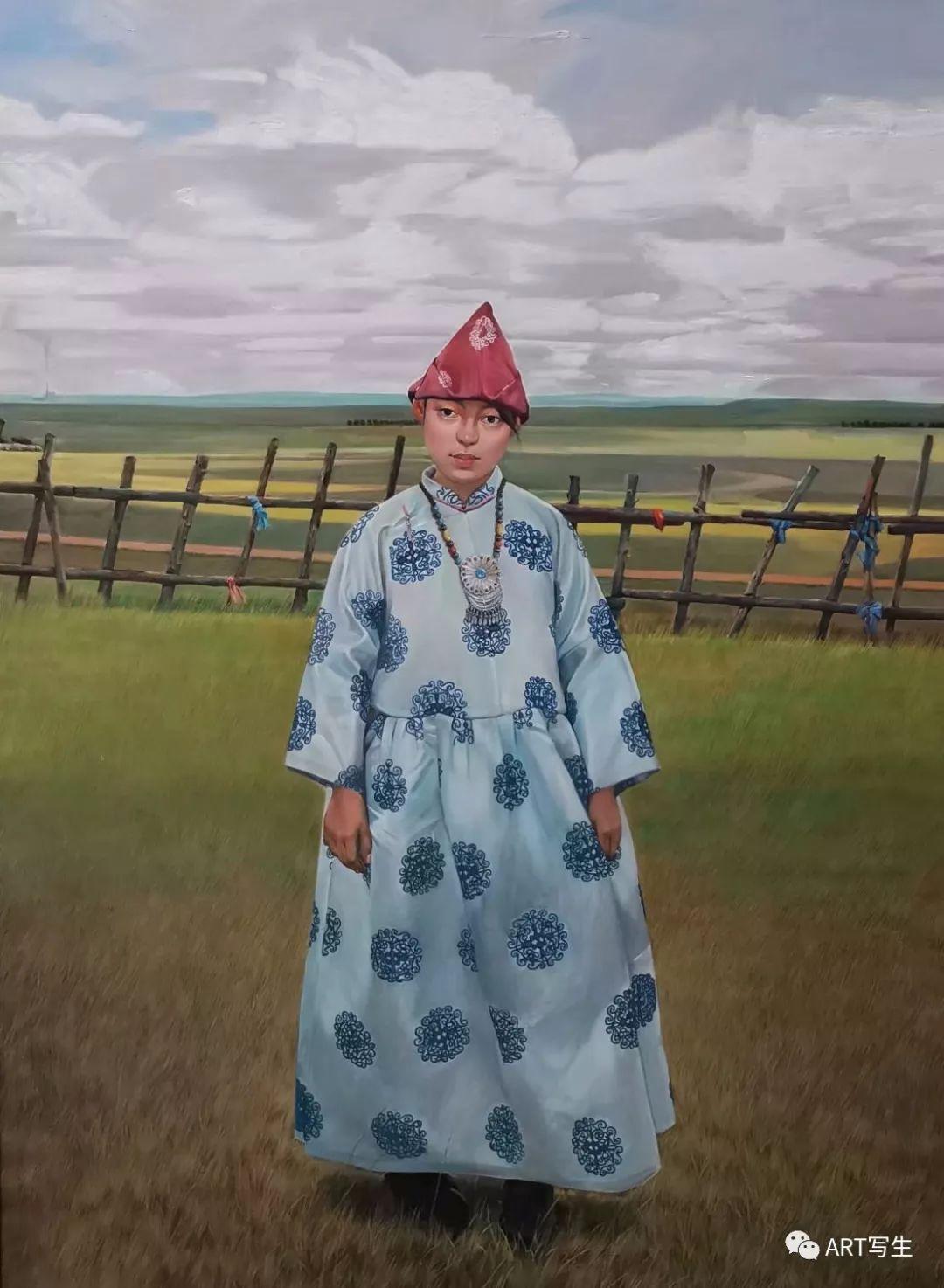 第十三届内蒙古自治区美术作品展览(油画作品) 第70张