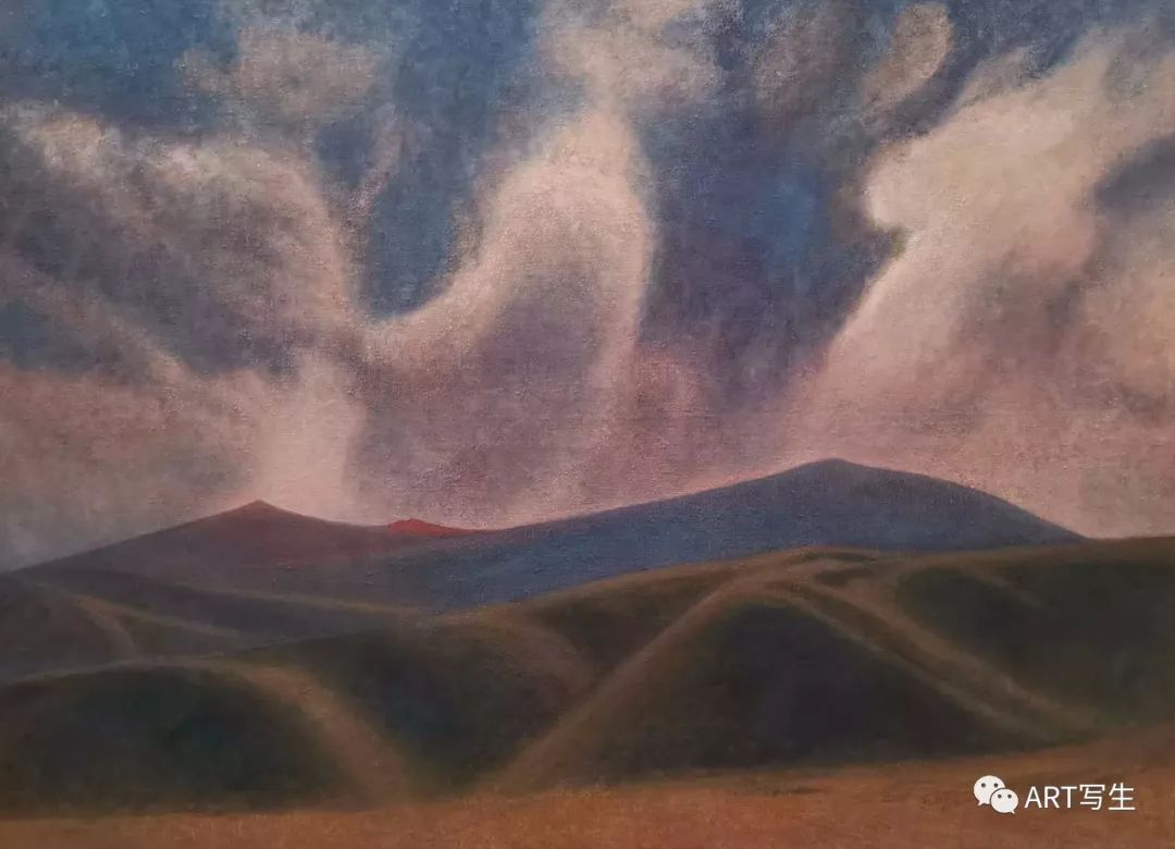 第十三届内蒙古自治区美术作品展览(油画作品) 第73张