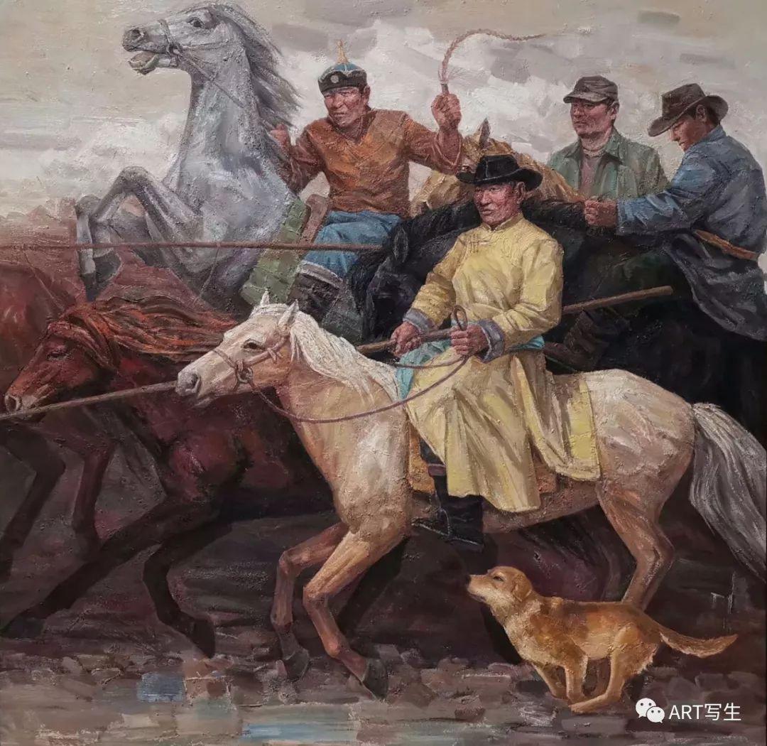 第十三届内蒙古自治区美术作品展览(油画作品) 第71张