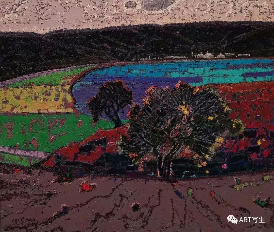 第十三届内蒙古自治区美术作品展览(油画作品) 第74张