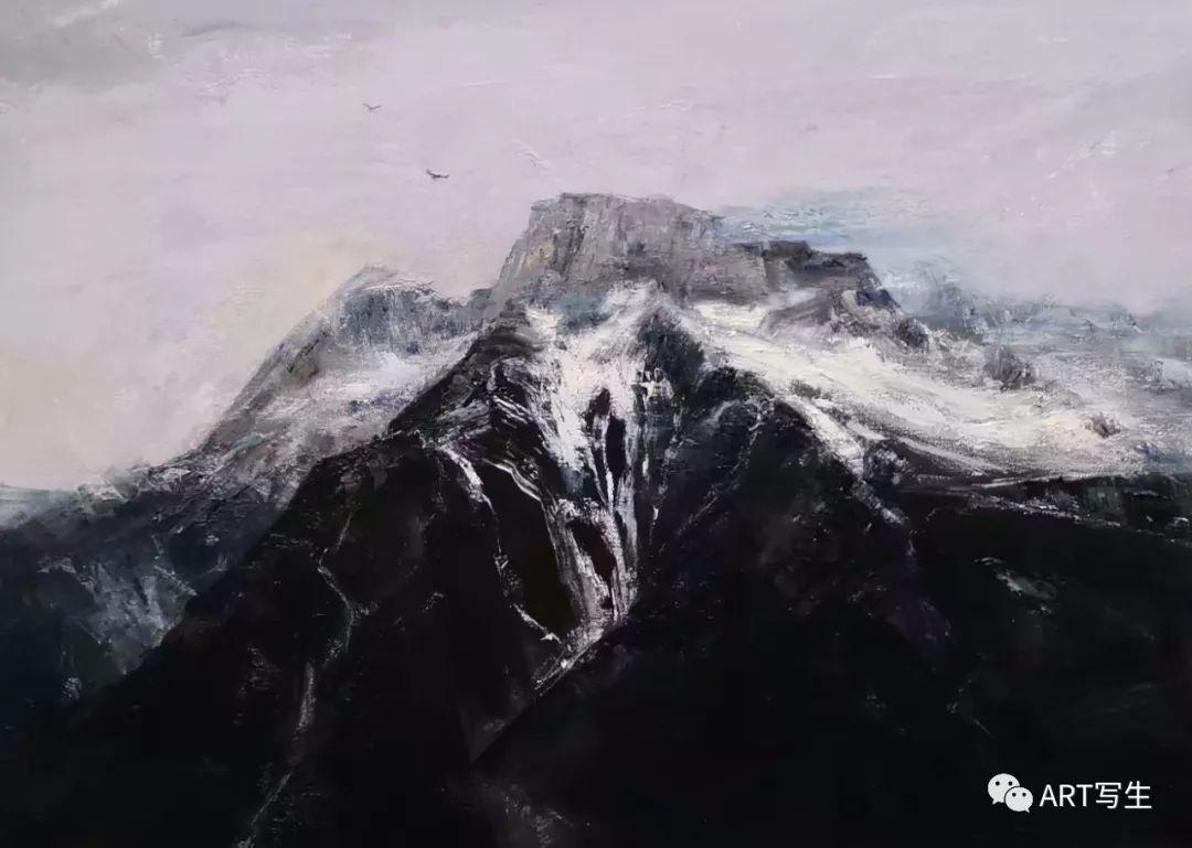 第十三届内蒙古自治区美术作品展览(油画作品) 第78张