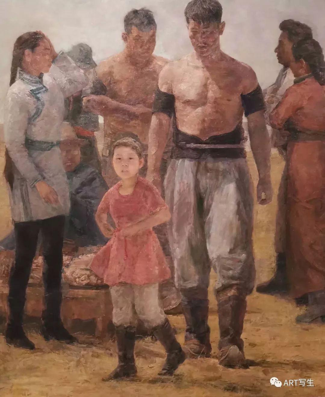 第十三届内蒙古自治区美术作品展览(油画作品) 第81张