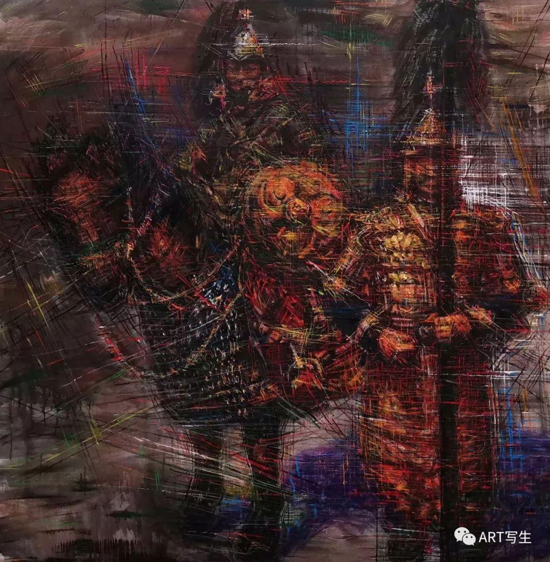 第十三届内蒙古自治区美术作品展览(油画作品) 第83张