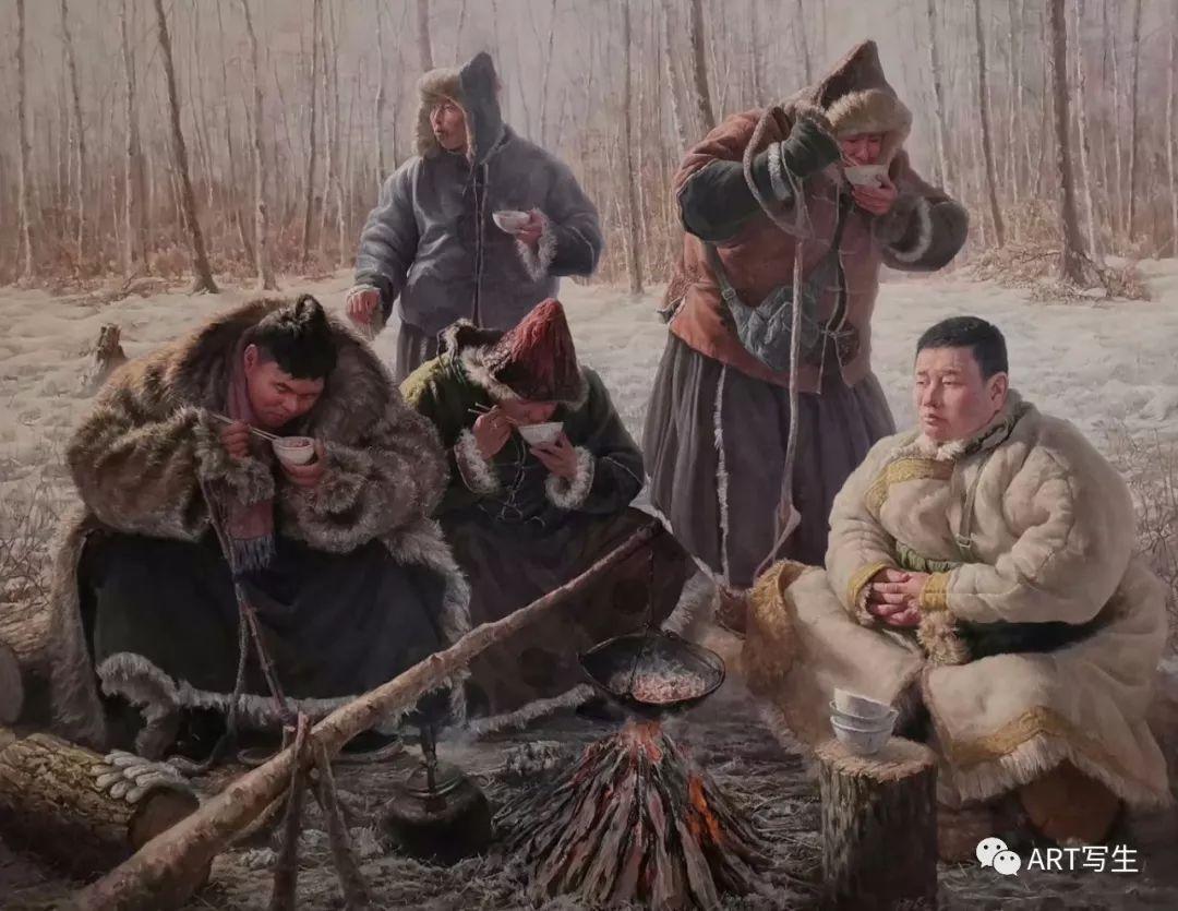 第十三届内蒙古自治区美术作品展览(油画作品) 第84张