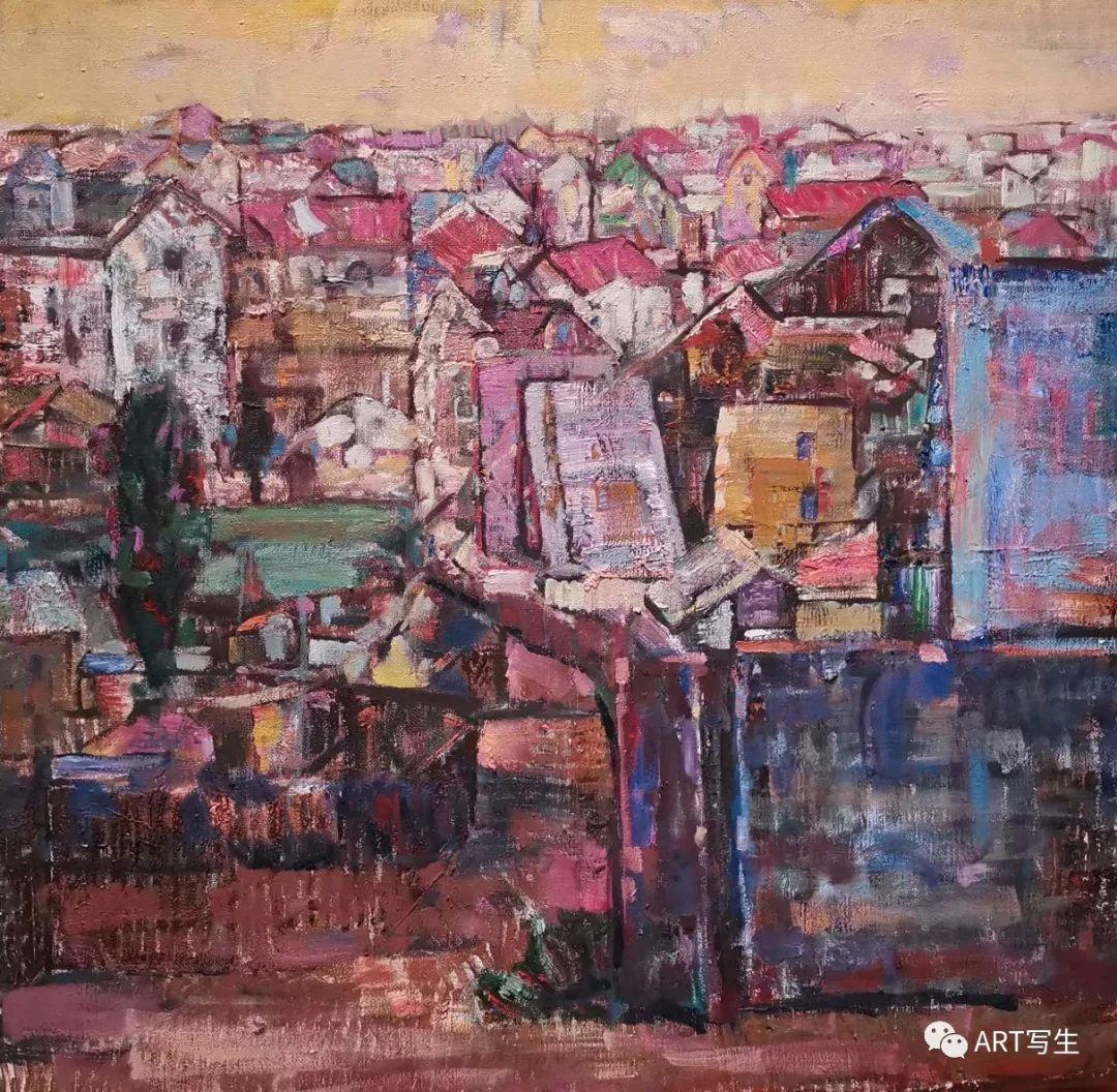 第十三届内蒙古自治区美术作品展览(油画作品) 第86张