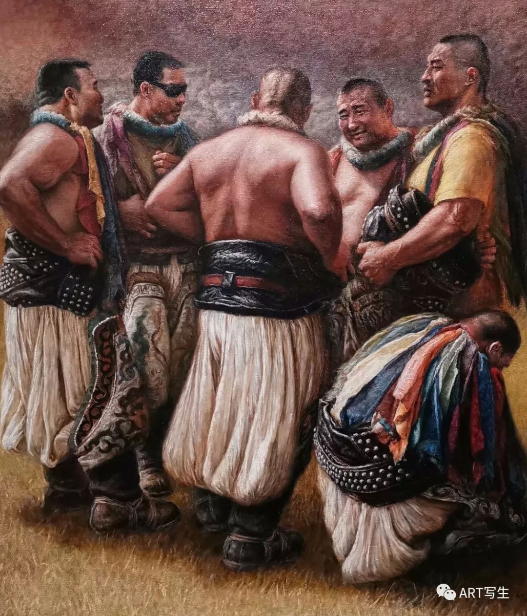 第十三届内蒙古自治区美术作品展览(油画作品) 第88张