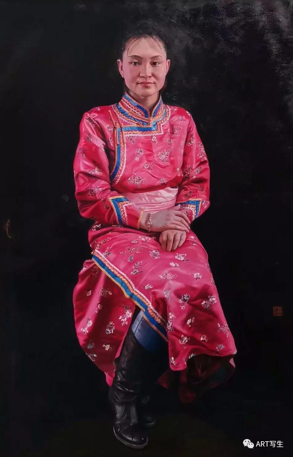第十三届内蒙古自治区美术作品展览(油画作品) 第87张