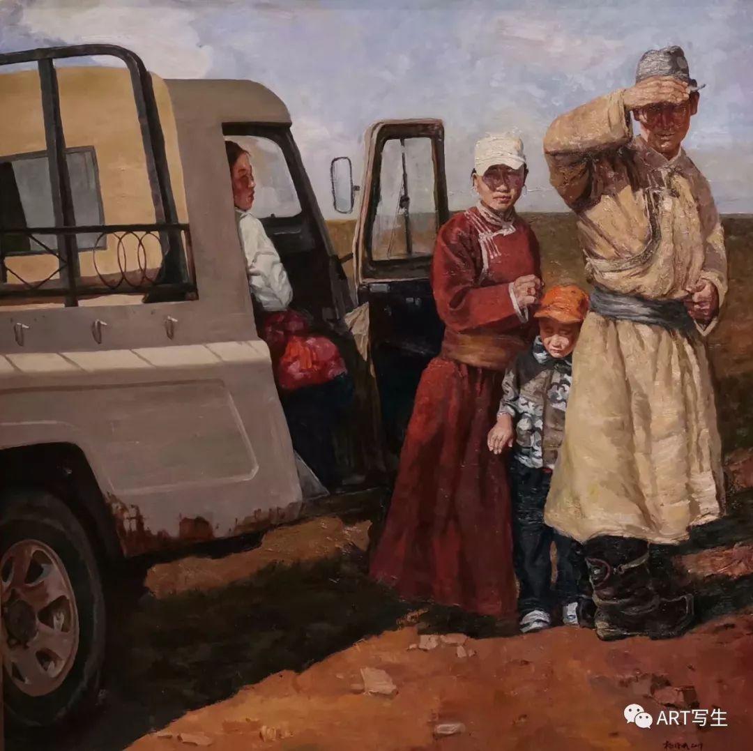 第十三届内蒙古自治区美术作品展览(油画作品) 第103张