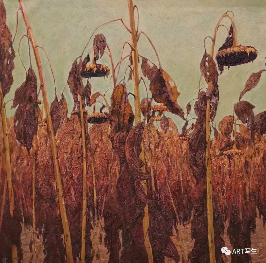 第十三届内蒙古自治区美术作品展览(油画作品) 第107张