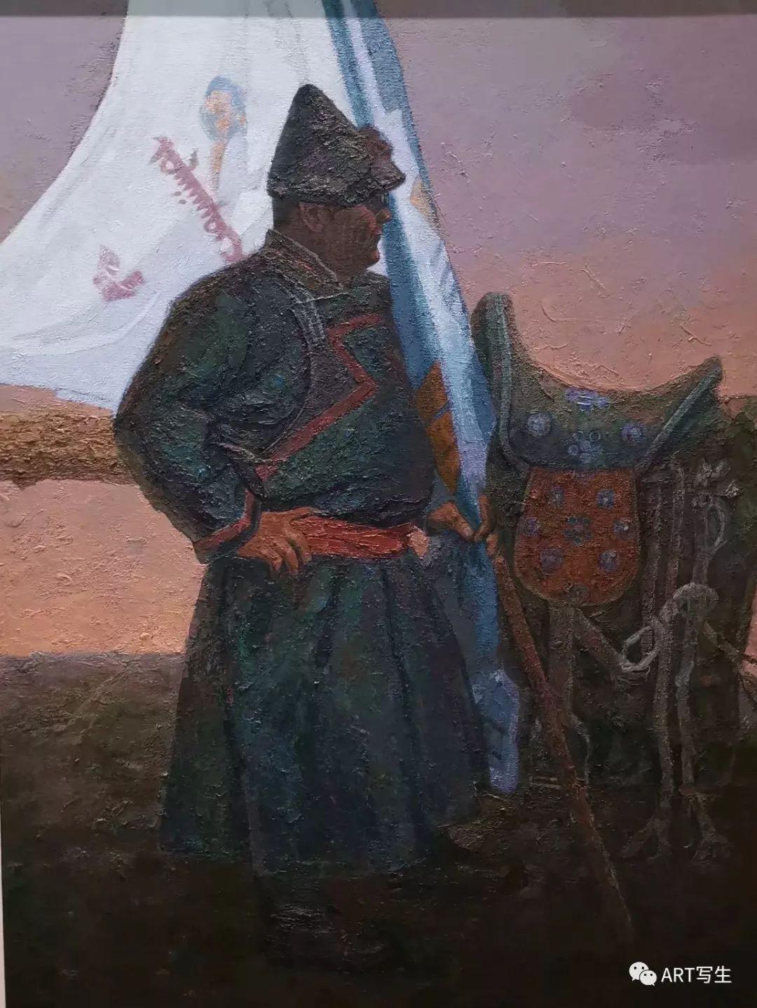 第十三届内蒙古自治区美术作品展览(油画作品) 第108张