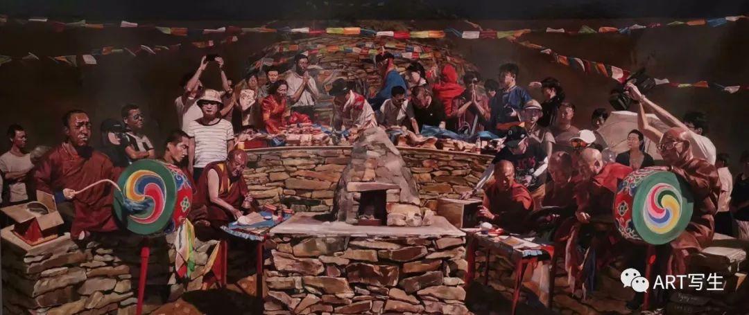 第十三届内蒙古自治区美术作品展览(油画作品) 第113张