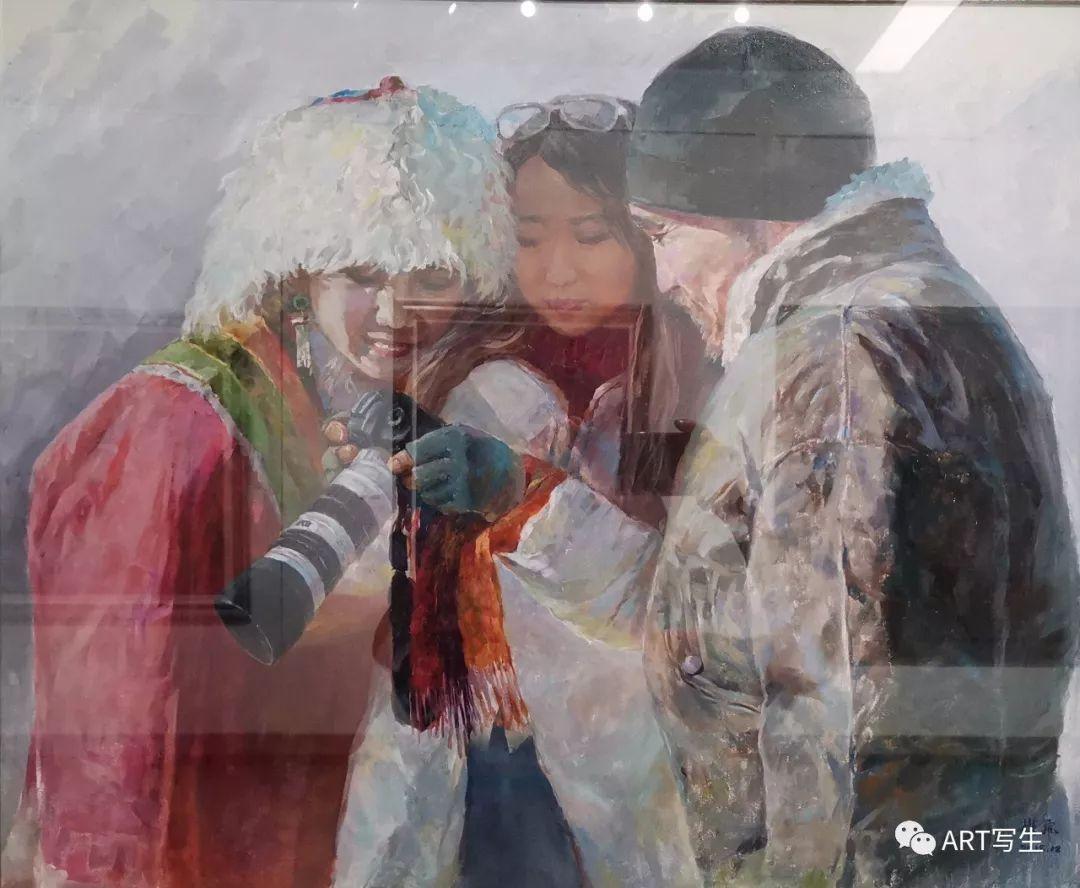 第十三届内蒙古自治区美术作品展览(油画作品) 第118张