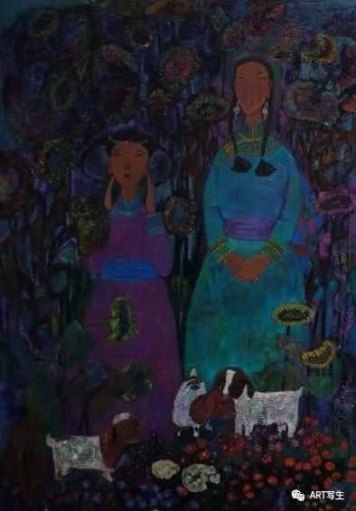 第十三届内蒙古自治区美术作品展览(油画作品) 第120张