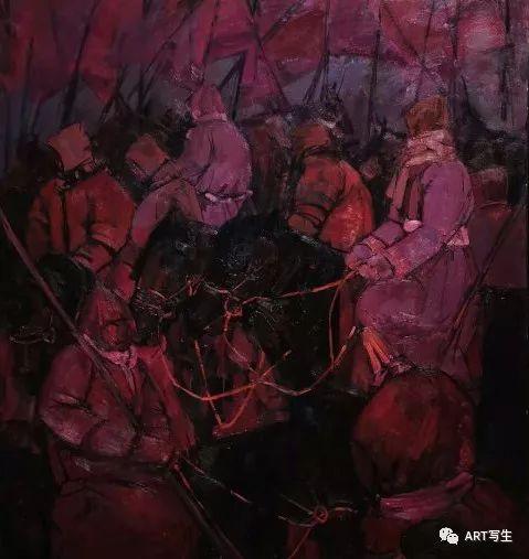 第十三届内蒙古自治区美术作品展览(油画作品) 第121张