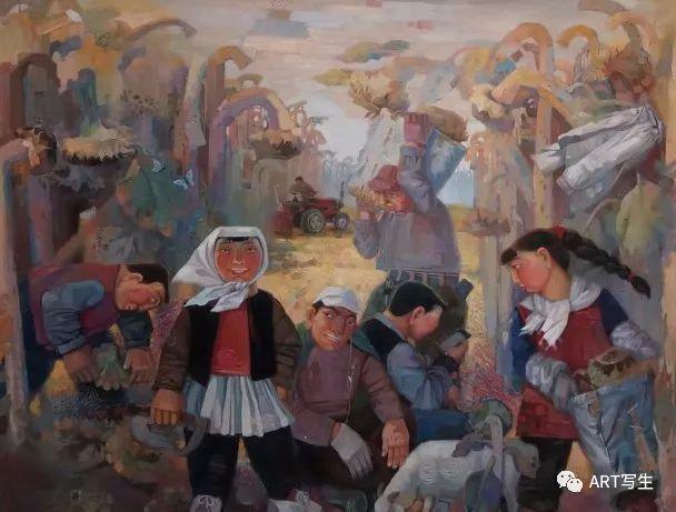 第十三届内蒙古自治区美术作品展览(油画作品) 第123张