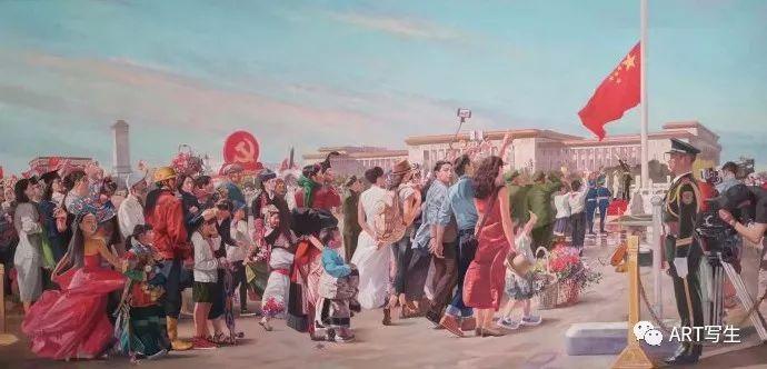第十三届内蒙古自治区美术作品展览(油画作品) 第125张