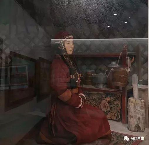 第十三届内蒙古自治区美术作品展览(油画作品) 第126张