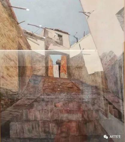 第十三届内蒙古自治区美术作品展览(油画作品) 第127张