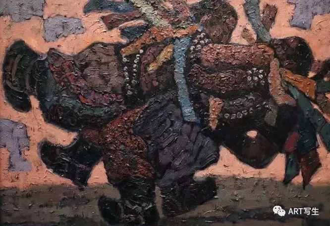 第十三届内蒙古自治区美术作品展览(油画作品) 第133张