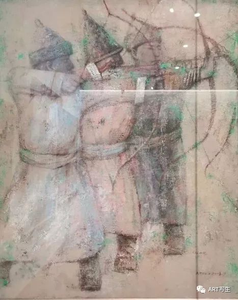 第十三届内蒙古自治区美术作品展览(油画作品) 第135张