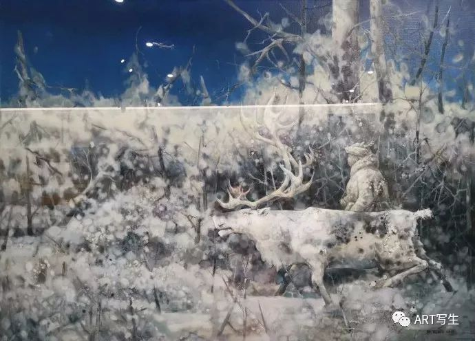 第十三届内蒙古自治区美术作品展览(油画作品) 第136张