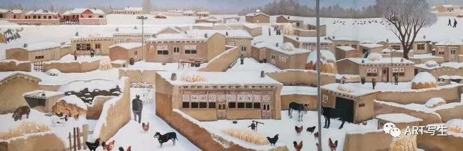 第十三届内蒙古自治区美术作品展览(油画作品) 第137张