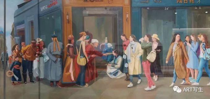 第十三届内蒙古自治区美术作品展览(油画作品) 第140张