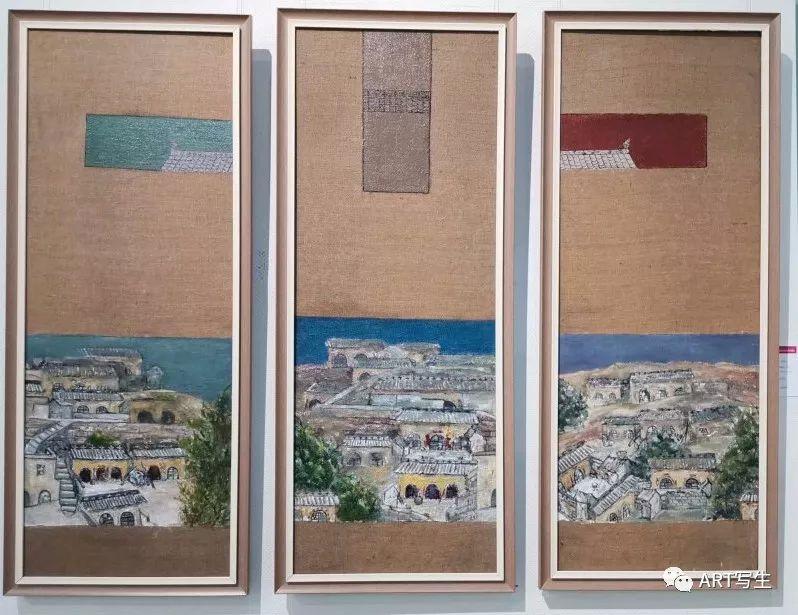 第十三届内蒙古自治区美术作品展览(油画作品) 第141张