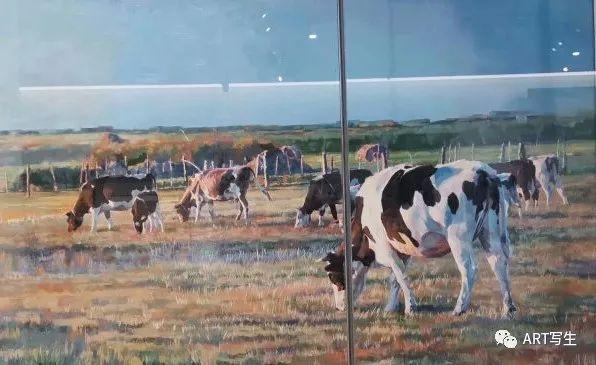 第十三届内蒙古自治区美术作品展览(油画作品) 第139张