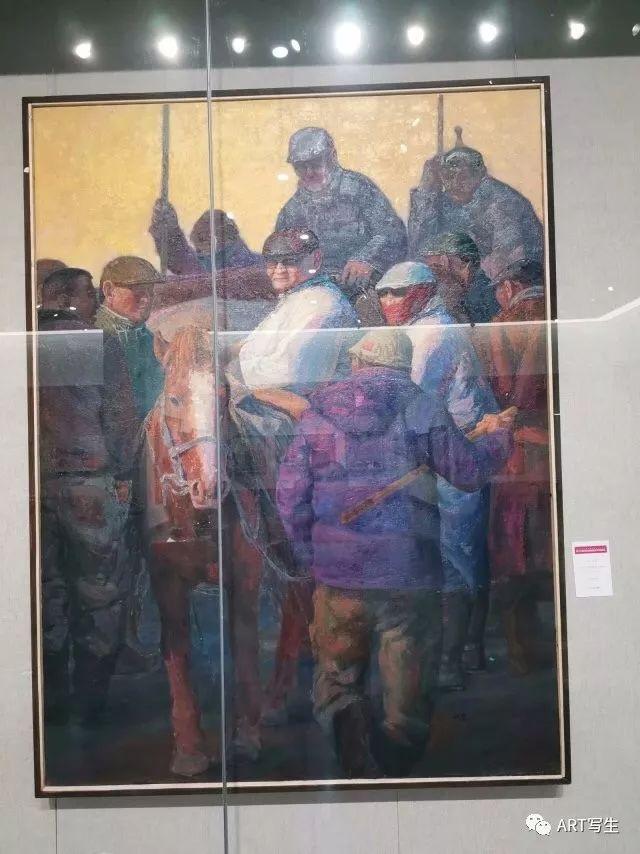 第十三届内蒙古自治区美术作品展览(油画作品) 第149张