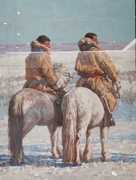 第十三届内蒙古自治区美术作品展览(油画作品) 第152张