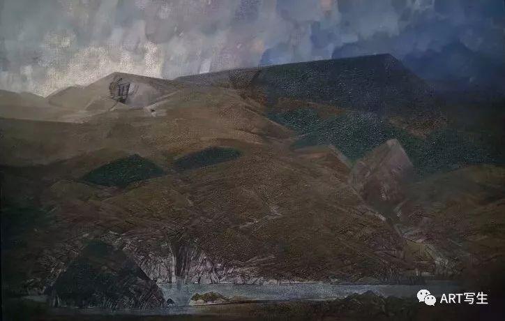 第十三届内蒙古自治区美术作品展览(油画作品) 第150张
