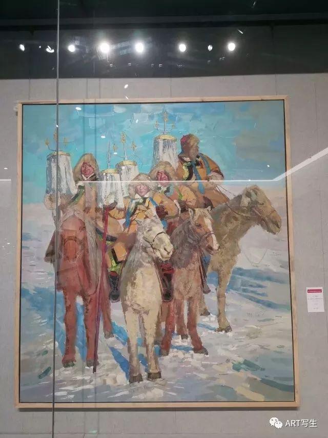 第十三届内蒙古自治区美术作品展览(油画作品) 第151张